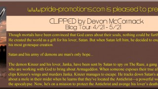 Blog Tour & Giveaway : Clipped by Devon McCormack