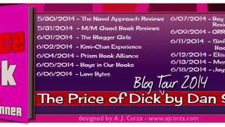 Blog Tour : Guestpost, Excerpt & Giveaway Dan Skinner - The Price of Dick