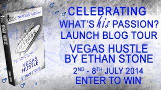 Blog Tour : Character Interview & Giveaway , Ethan Stone - Vegas Hustle