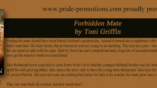 Blog Tour : Short Excerpt & Giveaway, Toni Griffin - Forbidden Mate ( Holland Brothers 4 )