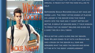 Book Blast : Excerpt & Giveaway , Jackie Nacht - Wrong Locker