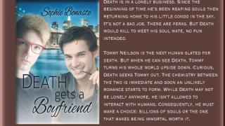 Blog Tour : Guestpost , Excerpt & Giveaway, Sophie Bonaste - Death Gets a Boyfriend