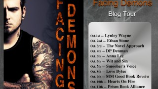 Blog Tour : Guestpost & Giveaway Lynley Wayne - Facing Demons