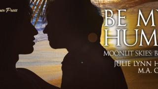 Blog Post : Guestpost , Excerpt & Giveaway Julie Lynn Hayes & M.A Church - Be My Human (Moonlit Skies)