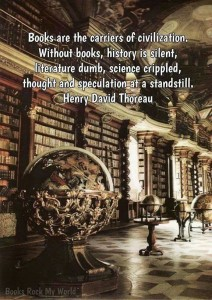 Books care carriers of civilization