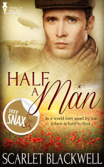 Book Review: Half a Man (War Tales #1) by Scarlet Blackwell