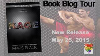 Blog Tour: Exclusive Excerpt,Recent Release Review & DOUBLE Giveaway:  KAGE (KAGE Trilogy #1) by Maris Black