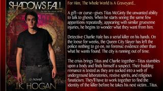 Blog Tour: Interview, Excerpt & Giveaway J.K Hogan - Shadows Fall