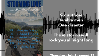 Blog Tour: Spotlight incl Giveaway MLR Press: Storming Love: Earthquake