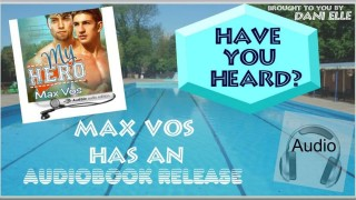 Blog Tour: Character interview , Review & Giveaway Max Vos - My Hero Audio Book