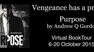 Blog Tour: Interview, Excerpt & Giveaway Andrew Q Gordon - Purpose