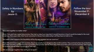 Blog Tour: Interview, Excerpt & Giveaway  Jessie G. -- Safety in Numbers