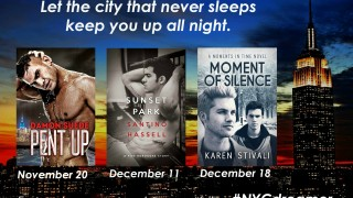 Blog Tour: Interview & Giveaway Santino Hassell, Karen Stivali & Damon Suede - NYCdreamer