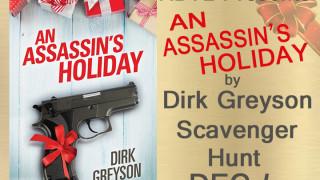 Blog Tour: Scavanger Hunt & Giveaway Dirk Greyson - An Assassin's Holiday