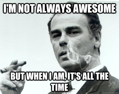 I Am Awesome Memes The Life of a W...