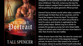 Blog Tour: Guest Post, Excerpt & Giveaway  Tali Spencer -- Victory Portrait