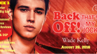 Blog Tour: Interview & Giveaway Wade Kelly - Back Off! That's My Jock