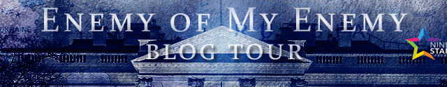 Blog Tour: Character Interview, Excerpt & Giveaway Tal Bauer - Enemy of My Enemy  (The Executive Office Book 2)