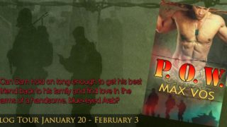 Blog Tour: Interview, Excerpt & Giveaway Max Vos - P.O.W.