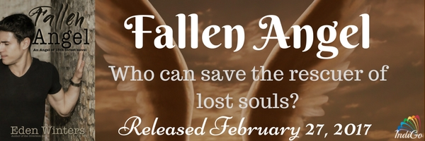 Blog Tour: Guestpost, Excerpt & Giveaway Eden Winters - Fallen Angel