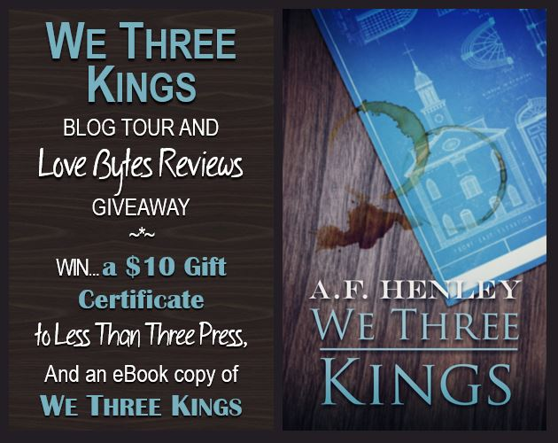 We Three Kings Blog Tour Givewaway LB