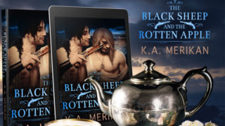Release Blitz incl Exclusive Excerpt & Giveaway: K.A Merikan - The Black Sheep and the Rotten Apple