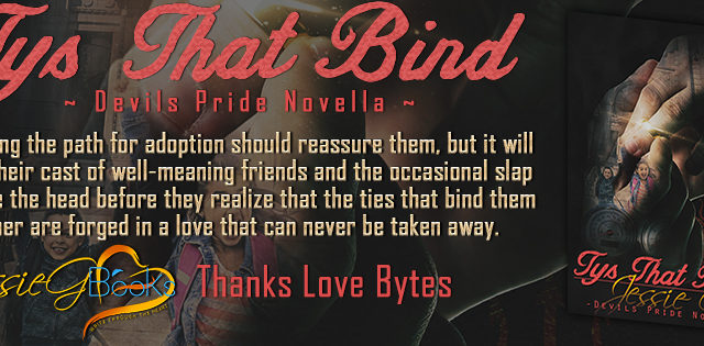 Review Tour incl Interview, Review & Giveaway: Tys That Bind by Jessie G