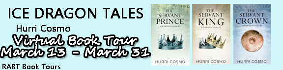 Blog Tour: Guestpost & Giveaway Hurri Cosmo - Ice Dragon Tales