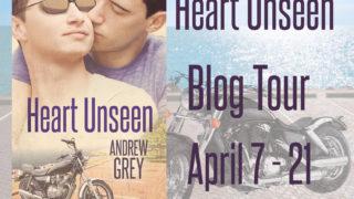 Blog Tour: Guestpost , Excerpt & Giveaway Andrew Grey - Heart Unseen