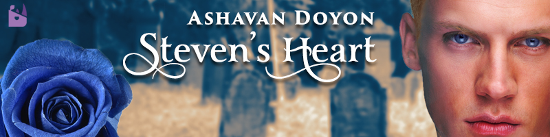 blog banner for Steven's Heart by Ashavan Doyon.