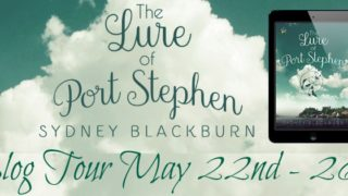Blog Tour: Interview, Excerpt & Giveaway Sydney Blackburn - The Lure of Port Stephen