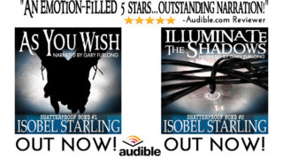 Author Interviews Narrator & Giveaway: Isobel Starling - Shatterproof Audio books