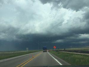 My daughter learned bout Nebraska weather.