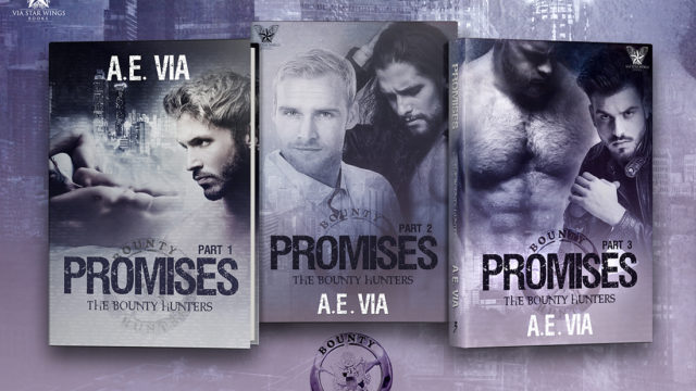 Blog Tour: Exclusive Excerpt & Giveaway  A.E Via - Promises 3
