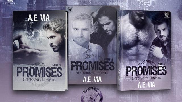 Blog Tour: Exclusive Excerpt & Giveaway  A.E Via - Promises 3