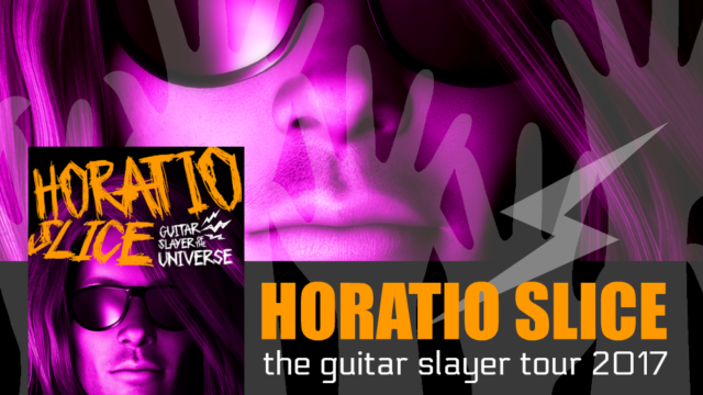 Intro, Exclusive Excerpt  & Giveaway: Oleander Plume - Horatio Slice: Guitar Slayer of the Universe
