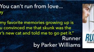 Blog Tour: Exclusive Bones Behind the Scenes, Excerpt & Giveaway -- Parker Williams - Runner