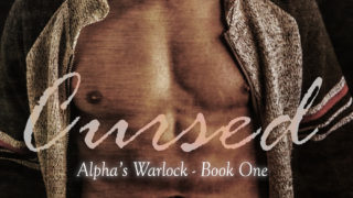 Exclusive Cover Reveal: Kris Sawyer - Cursed (Alpha's Warlock #1)