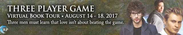 Blog Tour: Guestpost & Giveaway -- Jaime Samms - Three Player Game