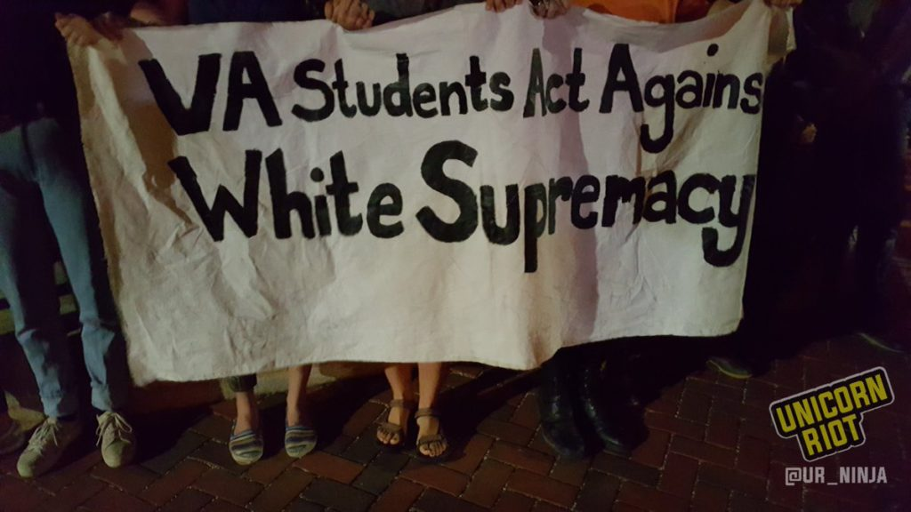 uva students against supremacy