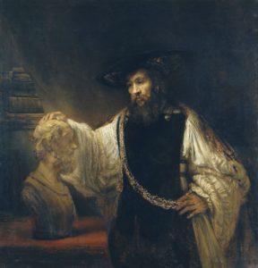 aristotle rembrandt-pixb 93203_640