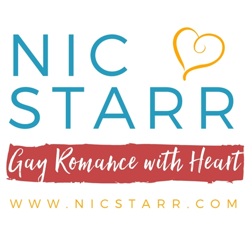 Nic Starr Logo - Red Strip - V2