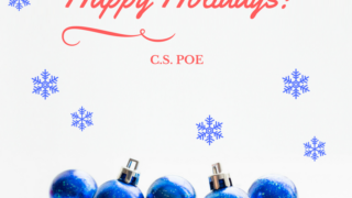 New Year's Resolutions with C.S. Poe