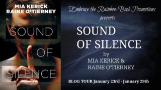 Blog Tour: Exclusive Excerpt & Giveaway: Mia Kerick & Raine O'Tierney - Sound of Silence