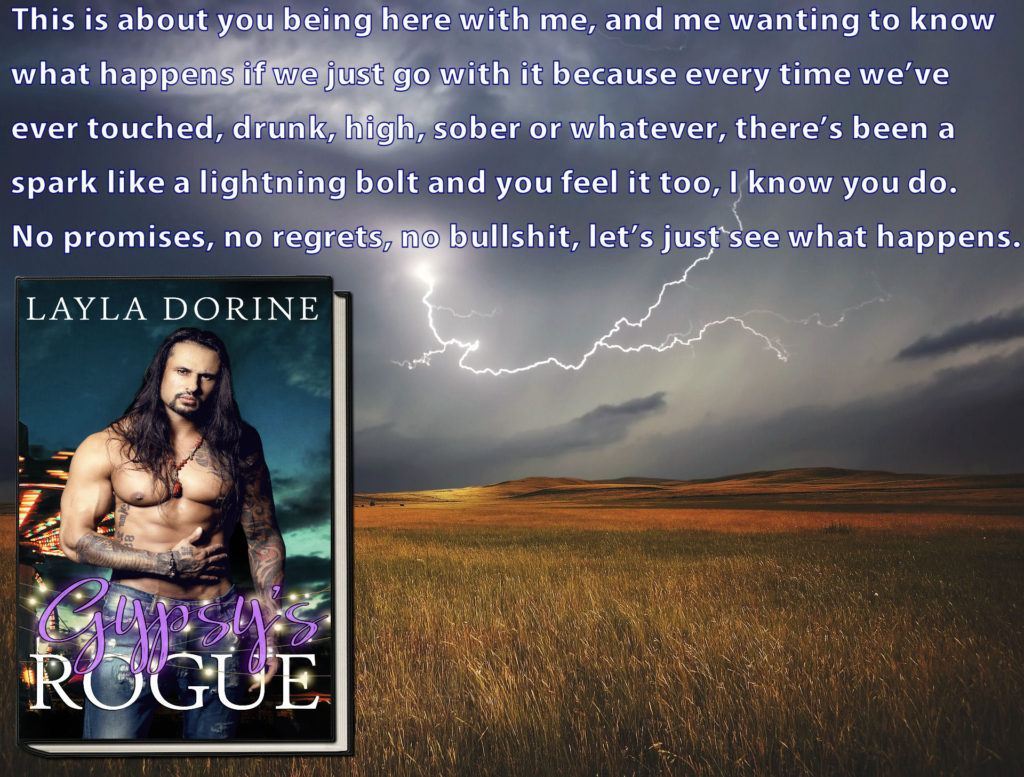 Guestpost & Excerpt: Layla Dorine - Gypsy's Rogue